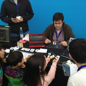 """Fue la primera implementación de """"Electrofisiología para tod@s"""" a la comunidad."""